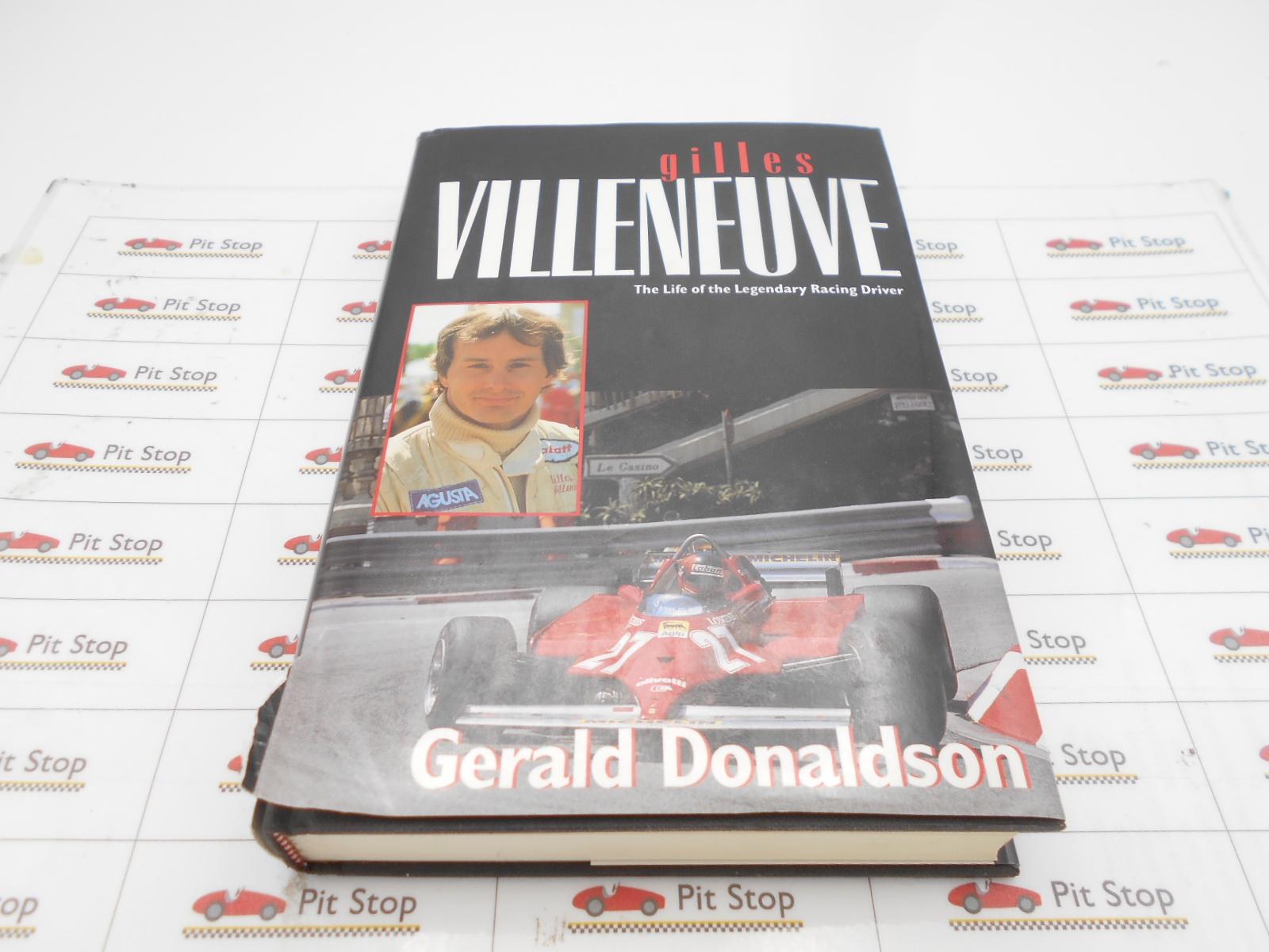 Villeneuve libro commemorativo in lingua inglese, 352 pagine