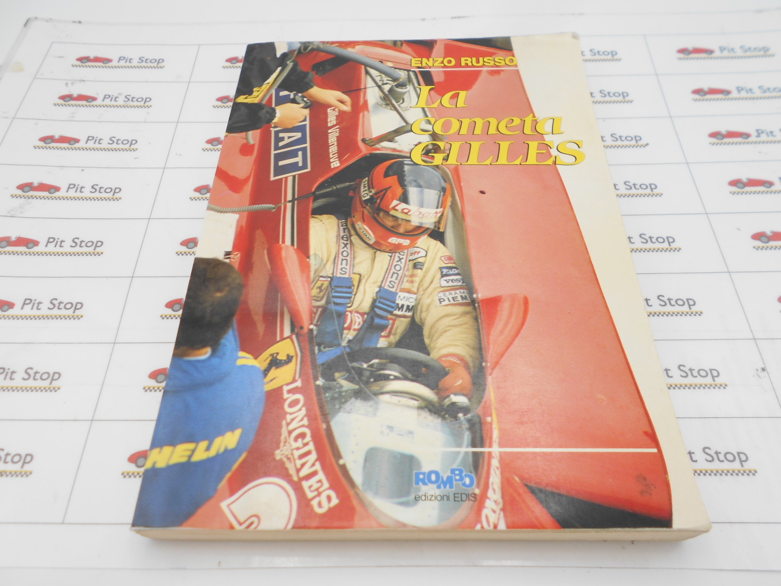Villeneuve libro commemorativo in lingua italiana, 171 pagine