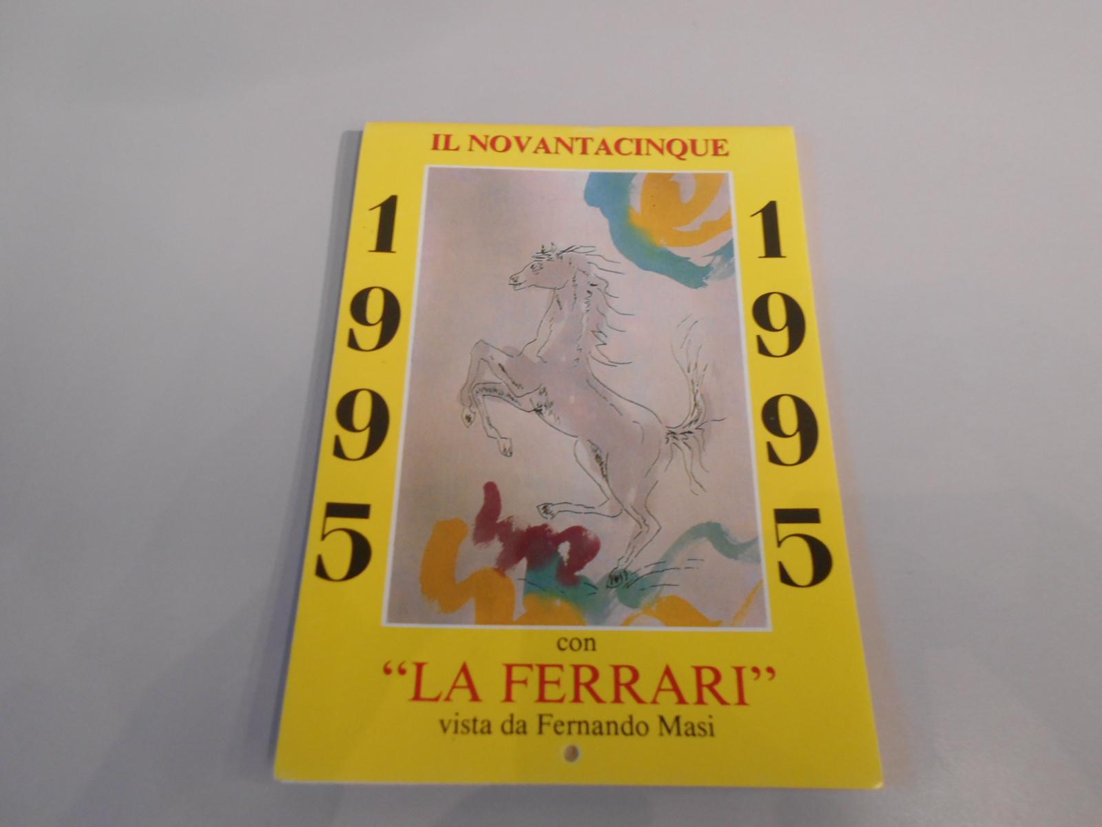 ANTQ401 CALENDARIO FERRARI 1995 DA TAVOLO