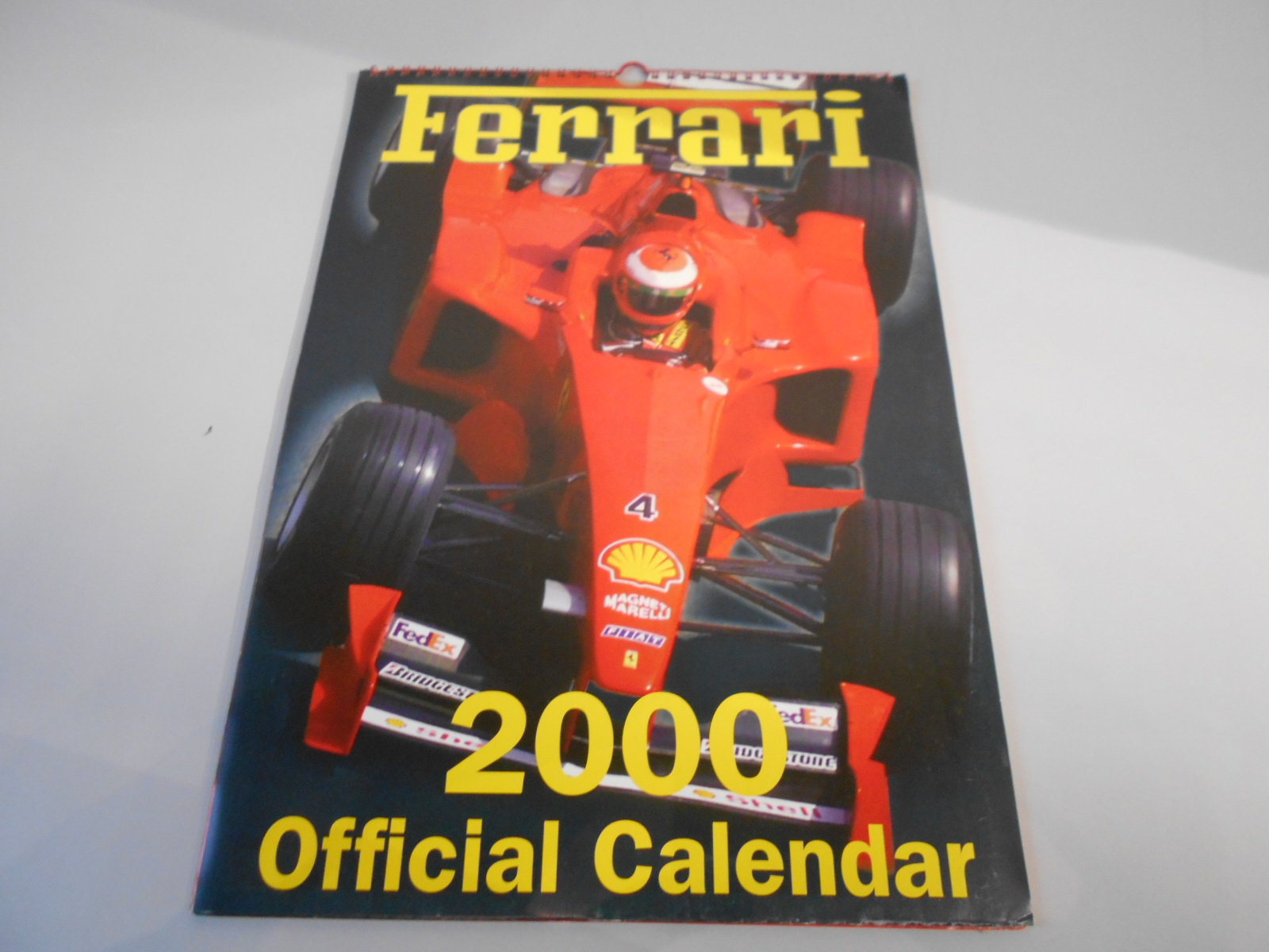 ANTQ303 CALENDARIO FERRARI 2000