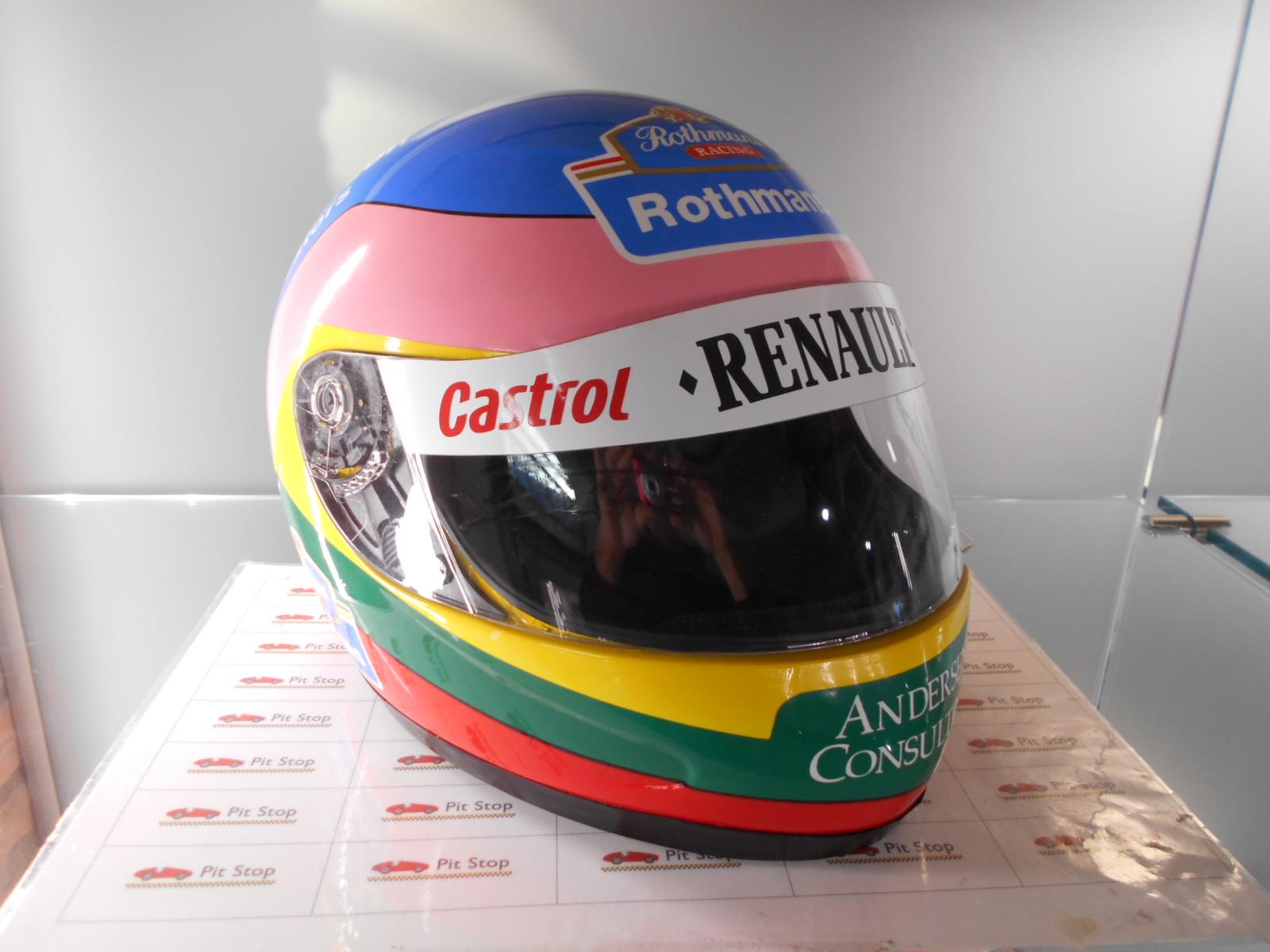 Casco F1 Jacques Villeneuve, scala 1/1