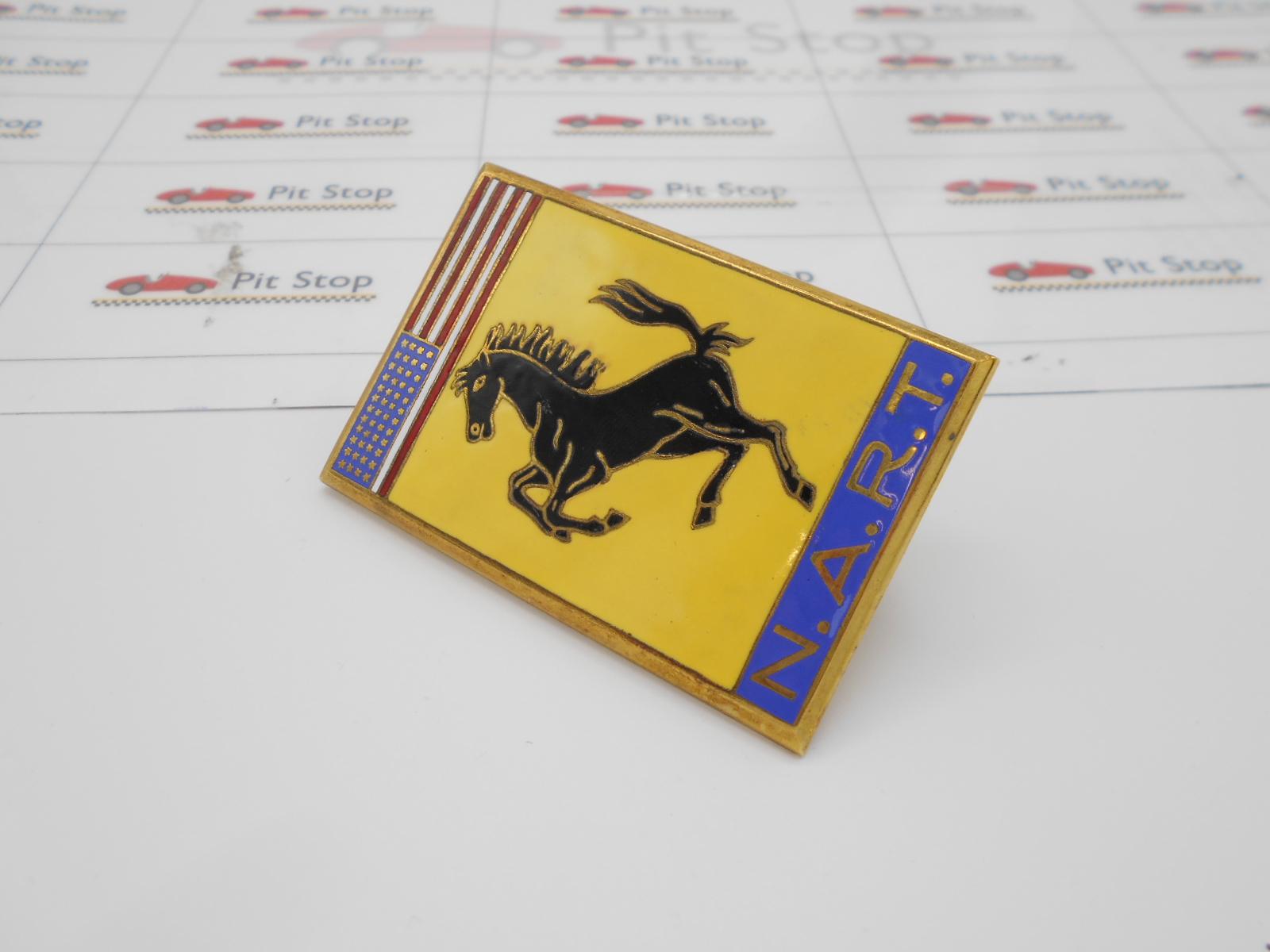 Ferrari stemma N.A.R.T originale
