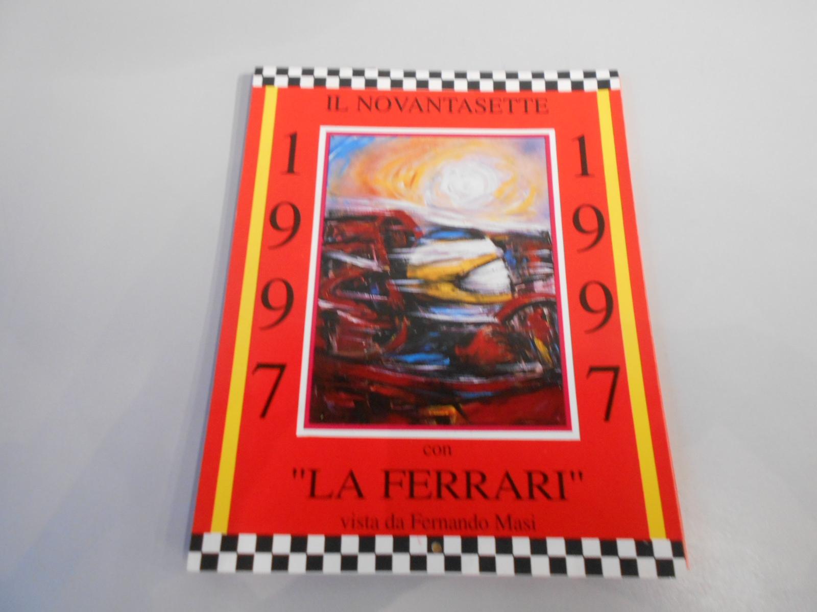 ANTQ306 CALENDARIO FERRARI 1997 DA TAVOLO